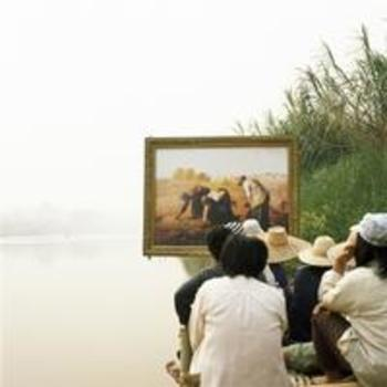 20130412175757-upcoming3613_rasdjarmrearnsook-two-planets---millet-s-the-gleaners-and-the-thai-farmers-2008-photograph