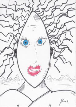 20130417105318-dessin_de_gricha_rosov_art_brut_singulier_outsider_-_agnes_portrait_de_femme_cheveux_noirs