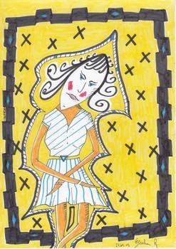 20130417105641-dessin_peinture_gricha_rosov_encre_de_chine_-femme_hortense_jaune_art_singulier_brut