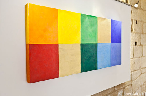 20130417140808-mary_obering___color_the_squares___2011___tempera_d_uovo_e_foglia_d_oro_su_gesso_e_masonite___65x143x7_cm