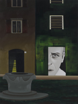 20130422001404-cortile_interno__porta_7__oil_and_acrilyc_on_canvas__80_x_60__2013