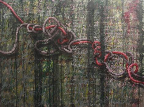 20130423142420-tali-merah-_red-strap__-acrylic-on-canvas_150cm-x-200cm_2012
