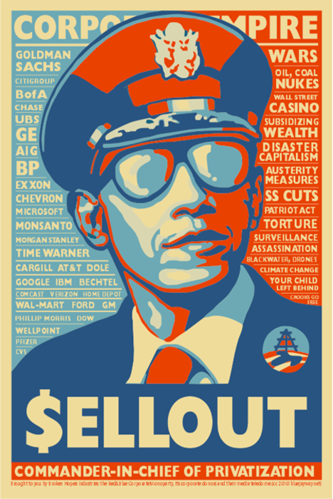 Obama Sellout Poster