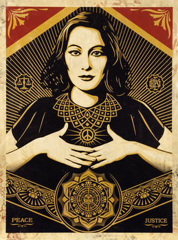 20130716195550-shepard_fairey_peace-and-justice-woman_hpm_paper-web