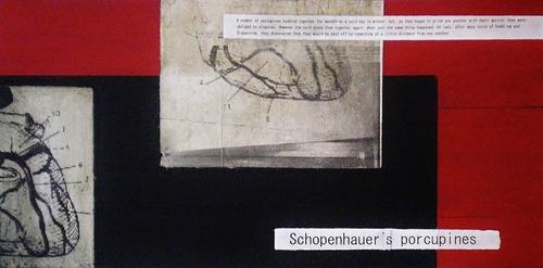 20130722090855-schopenhauer_s_porcupines__red_01__-_tecnica_mista_su_mdf__25x50cm__2013