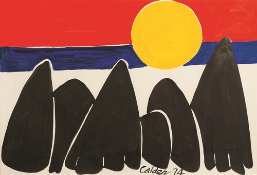 20130724143635-alexander_calder__untitled__1974__gouache_on_paper__29_58_x_42_34_in__courtesy_ronchini_gallery
