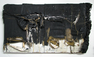 20131009175953-4_kathryn_hart_lunar_face_sm_38x63x7__diptych__mixed_media_and_objects_on_burlap_on_canvas