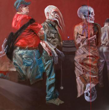20131011141635-sara_shamma__q4__2011__oil_on_canvas__200_x_200_cm__courtesy_of_the_artist___1_