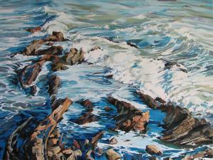 20131030205805-rocks_and_foam_by_karen_wickham_40x30