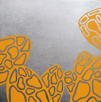 20131110143838-elden_morchella_acrylic_and_silver_paint_on_canvas_17x17in_2013_550