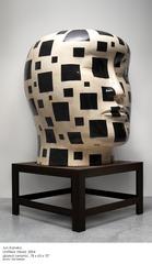 20140121222904-jun_kaneko_-_untitled_head_-_2004_-glazed_ceramic_and_steel_-_78_h_x_63_w_x_70_inches_d__head__32_h_x_56w_x_60_inches_d__table_