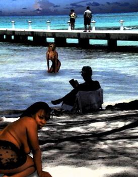 Beach_reader-print