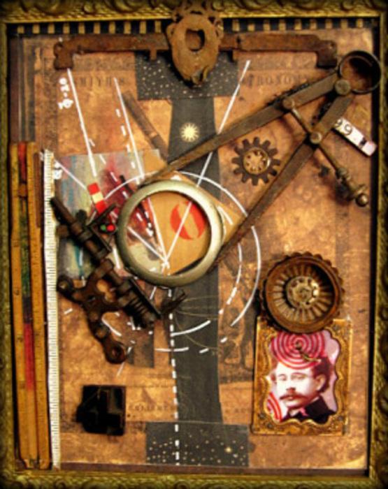 michael wilson assemblage dada collage artslant. Black Bedroom Furniture Sets. Home Design Ideas