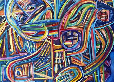 The_prayer__oil_on_canvas