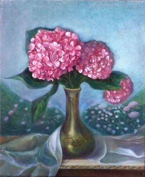 Oil_hortensia_in_bleu
