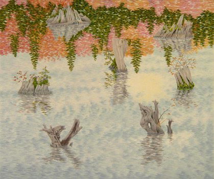20140329175447-drowned_forest_2013_casein_on_panel_20x24-small