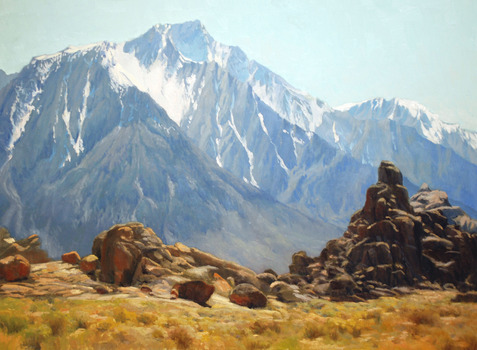 20140411193009-cabrera_midday_lone_pine_peak_30x40_oil_on_linen_print