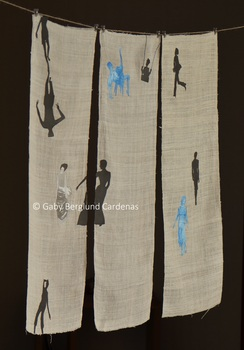 20140418105536-installation__japan_ink_drawings_and_prints_sewed_on_thailand_fabric__2013