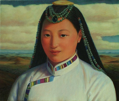 20140429230507-mongolian_girl__oil_on_linen__61_x_72cm