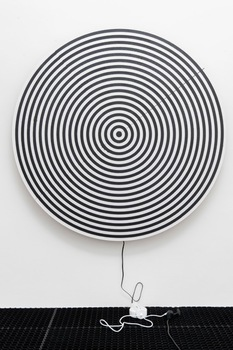 20140504222135-ned_vena_-_target_painting_ggg__plug__-polyurethane_and_rubber_on_linen__-162