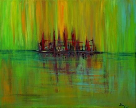 20140512053639-sandra_vucicevic__2009__the_raft__acrylic_on_canvas__24_x_30_in