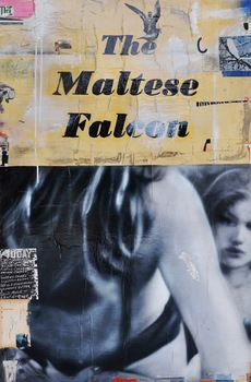 20140624220210-miller__maltese_falcon__2014__acrylic__collage__resin_on_panel__60_x_48_