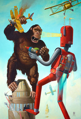 20140710155338-a_gersten_king-kong-vs-the-atomic-robot-42-x-62-oil-on-canvas-_14_950