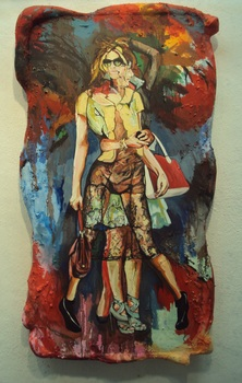 20140709204503-james_harvey_trophy_wife_2014_oil_on_hand_stitched_3d_canvas_29_inches_x_51_inches_x_4__inches