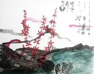 20140723202824-herbarium_blackeyed_susan_2014_100x80cm_acrlana_coton