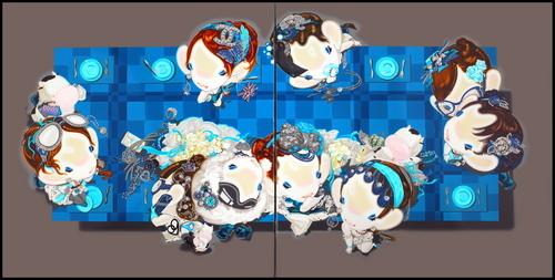 Han_yajuan__blingee__oil_on_canvas__2_x_150cm_x_150cm__2009