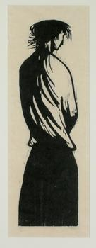20140831223511-leonard_baskin_-_woman_and_landscape_1950_woodblock_37x12