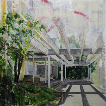 20140905163709-ross_m_brown__pavillion__interior__122_x_122_cm_-_oil__oil_stick_and_spray_paint_on_board_-_2014