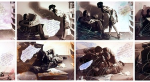 20141110181752-carolee-schneemann-aggression-for-couples-1972-8-photographs-with-hand-written-text-and-paint-wash_lr