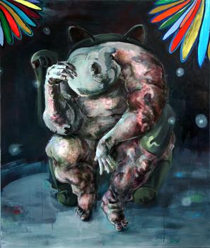 20141223220756-anna_katarzyna_domejko__keep_calm_and_keep_calm__2014__oil_on_canvas__courtesy_the_artist