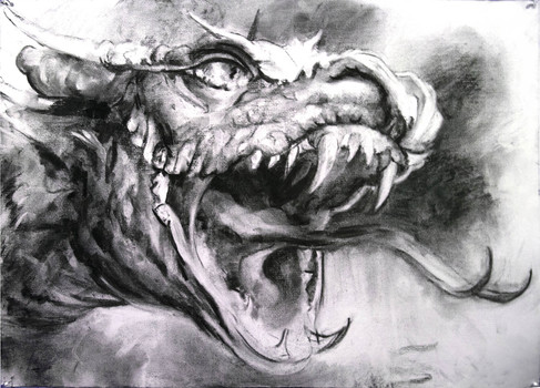 20150108200950-michael_davis__2014__dragon__charcoal_on_paper