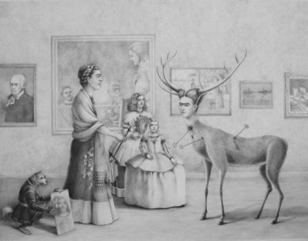 20150122205545-kate-samworth-frida-encounters-herself-graphite-1024x804