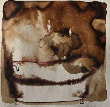 20150206010519-bathtub_ghostbusters__12x12_walnutinkonindiapaper_2014