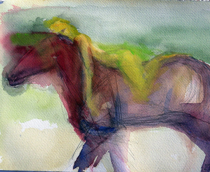 20150212232840-pszask__yellow_woman_red_horse__2013__14x11___watercolor_on_paper