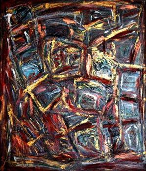 Zen_60x70_mixed_media_on_canvas_2007_sv