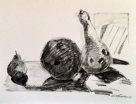 20150310033036-pear-with-gourds-charcoal-24x18-lesley-koenig