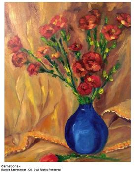 20150416001913-ramya_sarveshwar_-_carnations_-__oil_-_18_inches_x_24_inches_-___all_rights_reserved