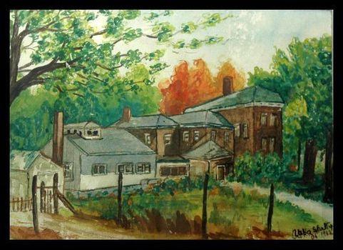 Village_house_water_colour_1966