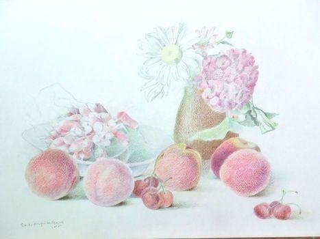 Aqua_radish_peaches_cherries