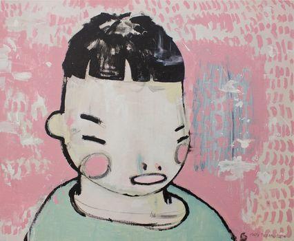 20150626125324-felix-treadwell-happy-2014-acrylic-on-canvas-66-x-81cm