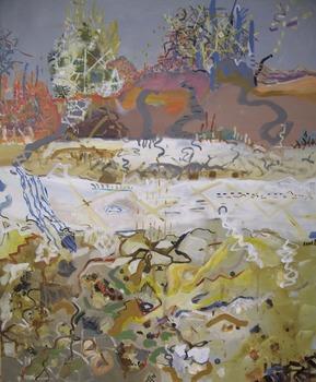 20150718222317-grazyna_adamska-jarecka__marks_at_parks__acrylic_on_canvas_30_x_24_inches