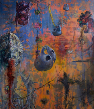 20150724031203-bachvarova_sofia_beyond_the_hanging_garden_bardo_ii___oil_on_canvas_50_x_58_inch_