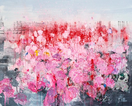 20150806142630-zhuang_hong_yi__untitled__2015__fine_rice_paper_petals_and_acrylic_on_canvas__200_x_250cm__unique