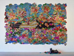 20150819143651-ep15-in-rest-dead-treez_mixed-media-jacquard-weave-tapestry-with-handmade-shoes-and-150-crocheted-leaves_-84-x-113