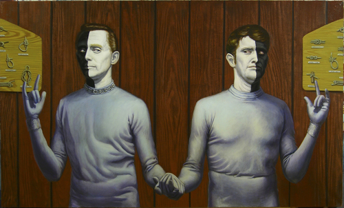 20150918161514-bele_and_lochimed_tie_the_knot_and_save_the_universe__36_x_60__oil_on_canvas__2005