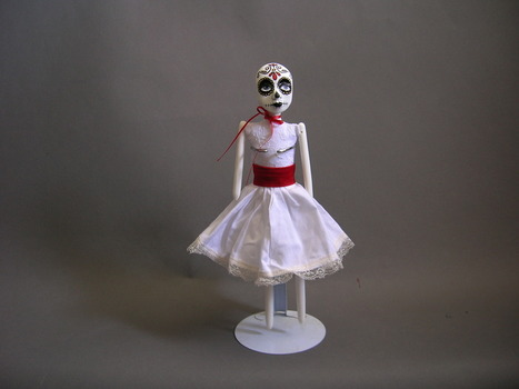 20151016133636-beth_robinson_-_day_of_the_dead_doll__white_-_mixed_media_-_12_inchesx3_inches